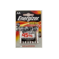 LR 6 ENERGIZER MAX+Power Seal BL-4