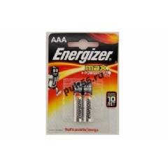 LR03 ENERGIZER MAX+Power Seal BL-2